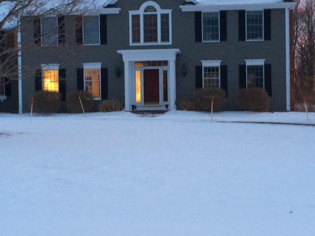 Grey House Portico 1