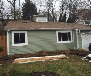 Siding Replacement on Home in the Annapolis Area